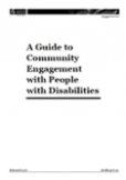 Guide to Community Engagement with People with Disabilities